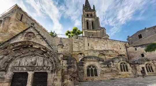 L'Église monolithe et son clocher