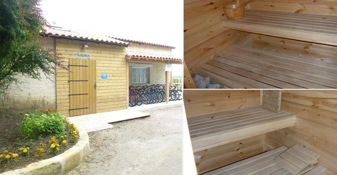 sauna camping